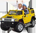 Kinderauto's en kindermotoren